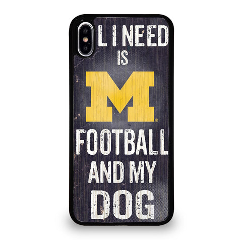 MICHIGAN WOLVERINES 5 iPhone XS Max Case Cover