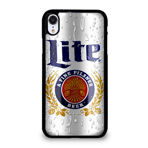 MILLER LITE BEER CAN iPhone XR Case Cover