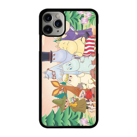 MOOMINS CHARACTERS 2 iPhone 11 Pro Max Case Cover