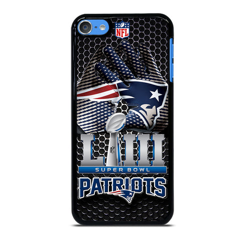 NEW ENGLAND PATRIOTS LIII CHAMP iPod Touch 7 Case Cover