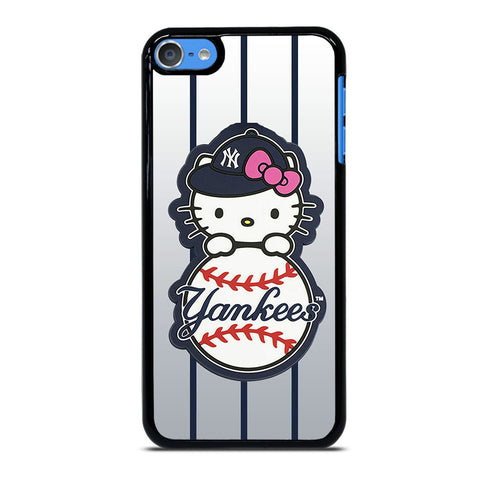 NEW YORK YANKEES HELLO KITTY 4 iPod Touch 7 Case Cover