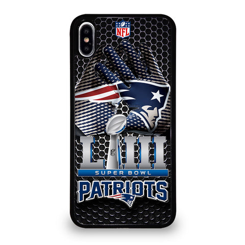 NEW ENGLAND PATRIOTS LIII CHAMP iPhone XS Max Case Cover