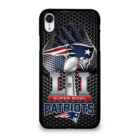 NEW ENGLAND PATRIOTS SUPER BOWL iPhone XR Case Cover