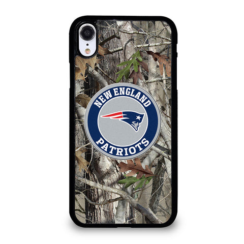 NEW ENGLAND PATRIOTS TREE CAMO iPhone XR Case Cover