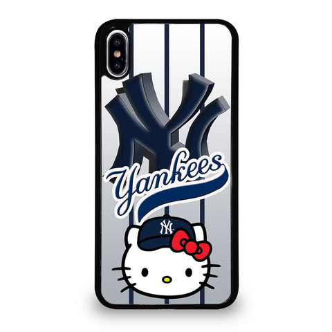 NEW YORK YANKEES HELLO KITTY 1 iPhone XS Max Case Cover