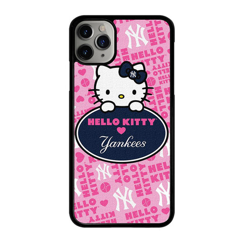 NEW YORK YANKEES HELLO KITTY 2 iPhone 11 Pro Max Case Cover