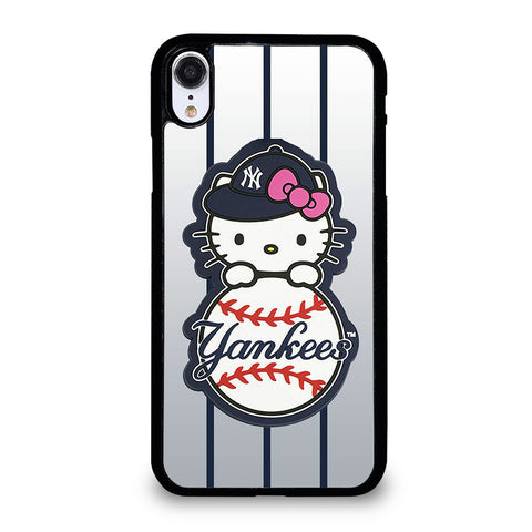 NEW YORK YANKEES HELLO KITTY 4 iPhone XR Case Cover