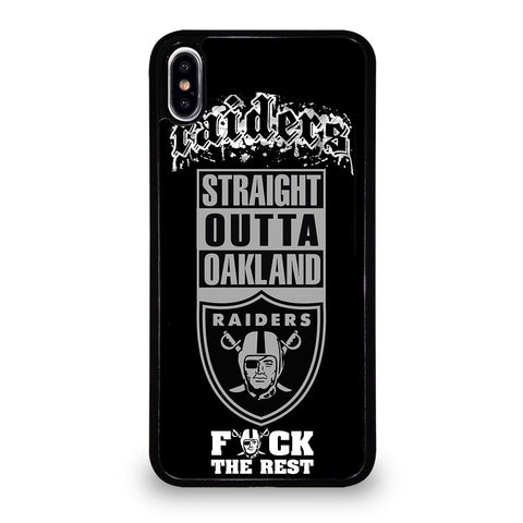 OAKLAND RAIDERS 4 iPhone XS Max Case Cover