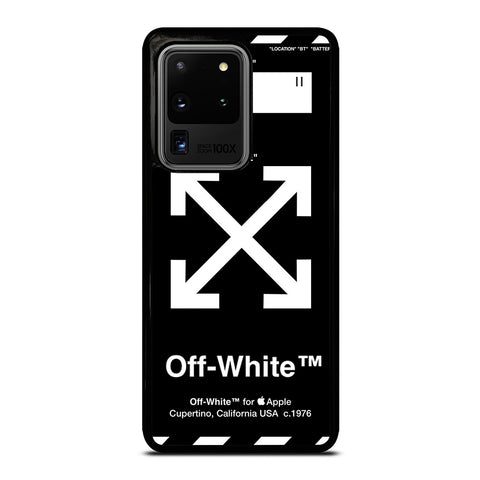 OFF WHITE 1 Samsung Galaxy S20 Ultra Case Cover