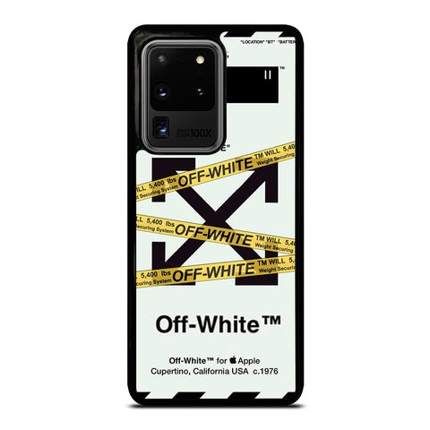 OFF WHITE 2 Samsung Galaxy S20 Ultra Case Cover