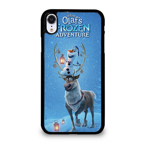 OLAF'S AND DEER FROZEN iPhone XR Case Cover