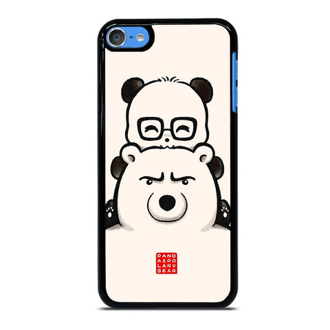 PANDA AND POLAR BEAR iPod Touch 7 Case Cover