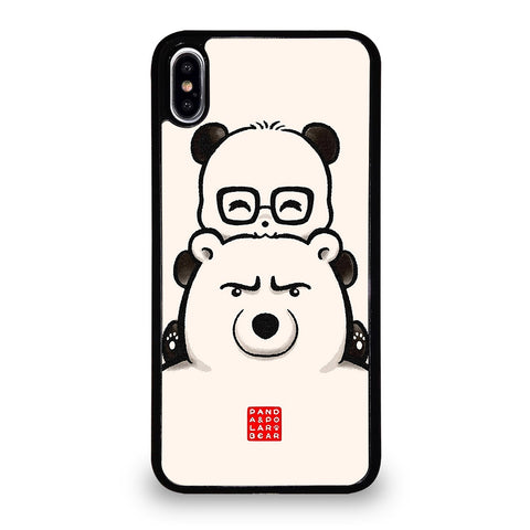 PANDA AND POLAR BEAR iPhone XS Max Case Cover
