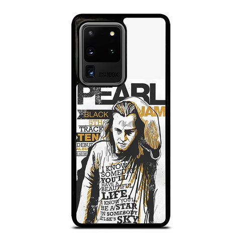 PEARL JAM ROCK BAND Samsung Galaxy S20 Ultra Case Cover
