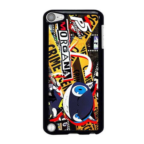 PERSONA 5 MORGANA HEROES iPod Touch 5 Case Cover