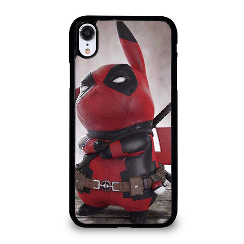 PIKACHU DEADPOOL iPhone XR Case Cover