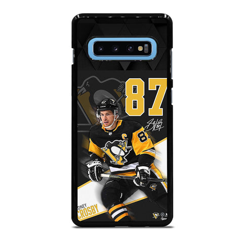 PITTSBURGH PENGUINS SIDNEY CROSBY 87 Samsung Galaxy S10 Plus Case Cover