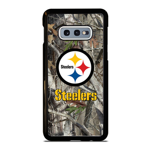 PITTSBURGH STEELERS TREE CAMO Samsung Galaxy S10e Case Cover