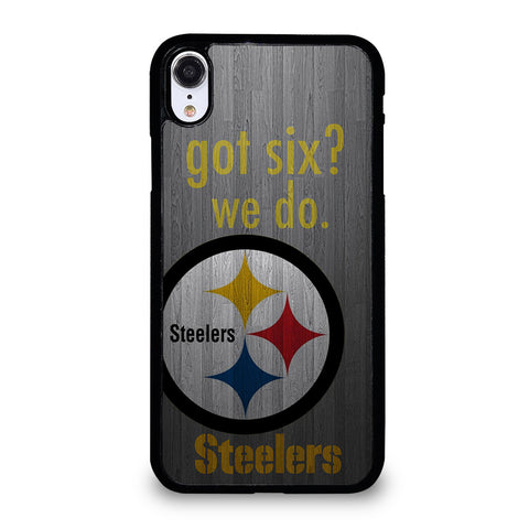 PITTSBURGH STEELERS GOT SIX iPhone XR Case Cover