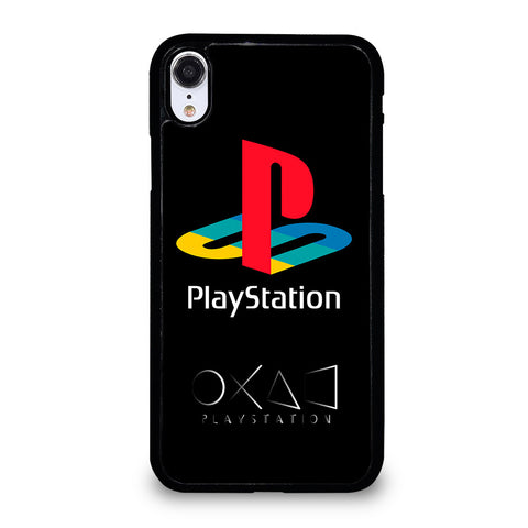 PLAYSTATION CLASSIC LOGO iPhone XR Case Cover