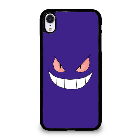 POKEMON GENGAR FACE iPhone XR Case Cover