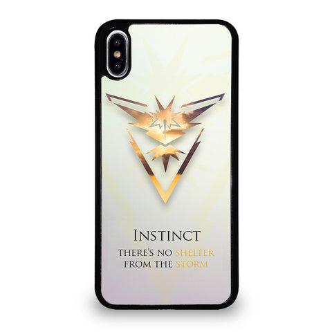 POKEMON GO TEAM INSTINCT 2 iPhone XS Max Case Cover