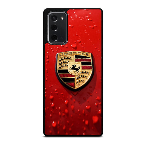 PORSCHE RED Samsung Galaxy Note 20 Case Cover