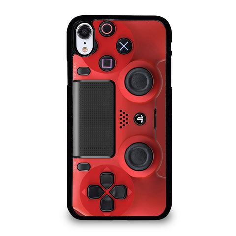 PS4 CONTROLLER PLAYSTATION RED iPhone XR Case Cover