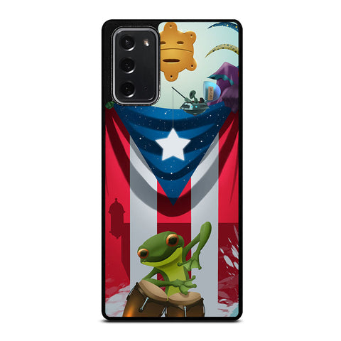 PUERTO RICO 1 Samsung Galaxy Note 20 Case Cover