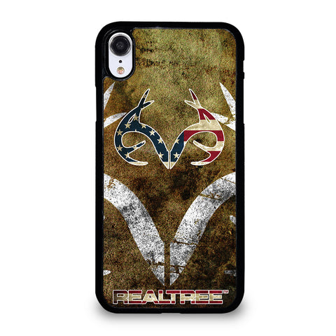 REALTREE DEER CAMO USA iPhone XR Case Cover