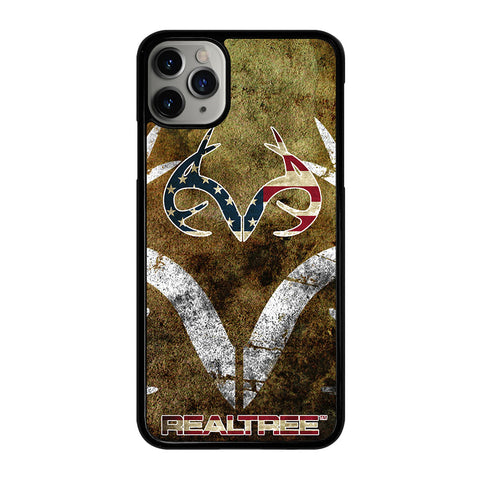 REALTREE DEER CAMO USA iPhone 11 Pro Max Case Cover