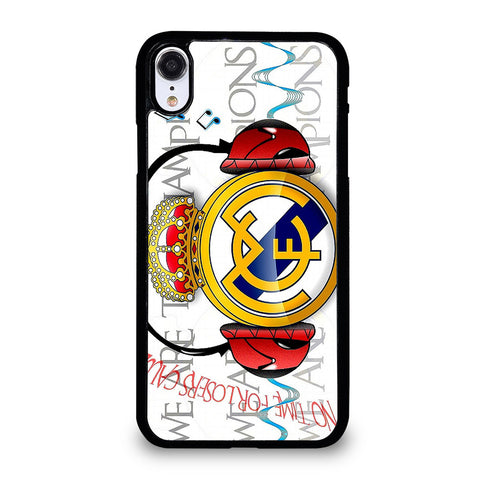 REAL MADRID CHAMPIONS iPhone XR Case Cover
