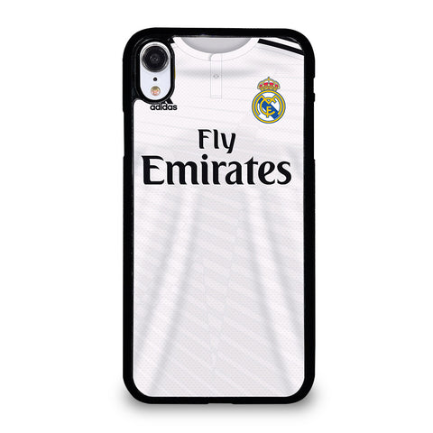 REAL MADRID JERSEY iPhone XR Case Cover