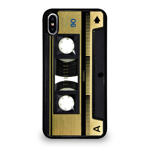 RETRO CASSETTE TAPE 3 iPhone XS Max Case Cover
