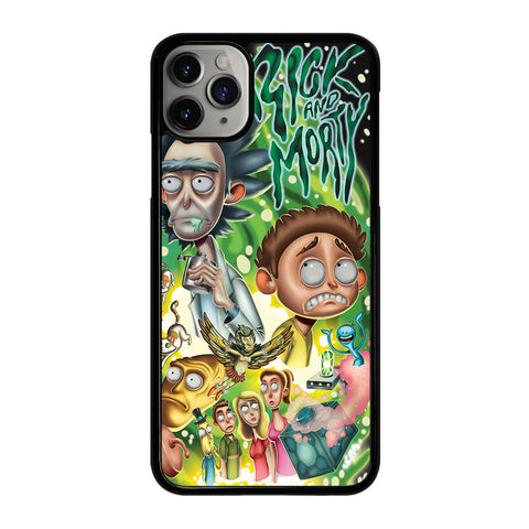 RICK AND MORTY ART 1 iPhone 11 Pro Max Case Cover