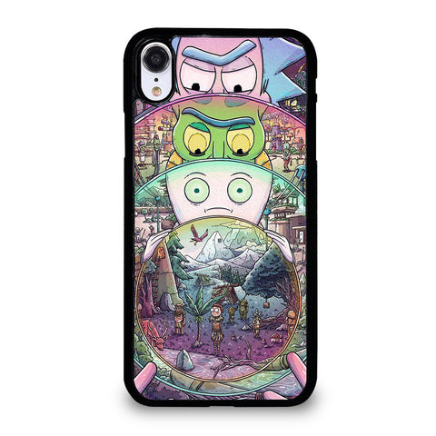 RICK AND MORTY ART 2 iPhone XR Case Cover