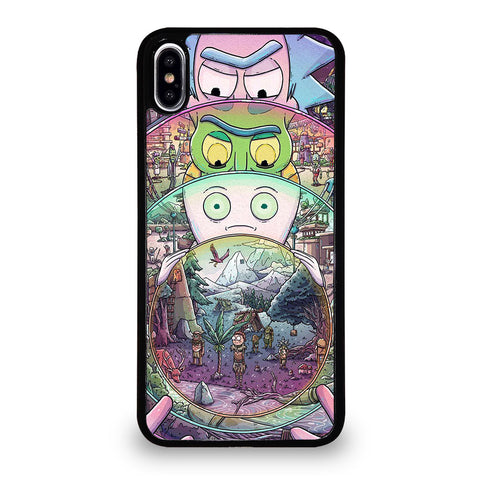RICK AND MORTY ART 2 iPhone XS Max Case Cover