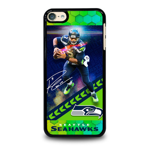 RUSSELL WILSON SEATTLE SEAHAWKS iPod Touch 6 Case Cover