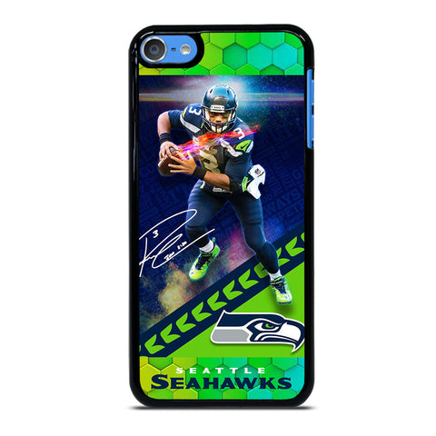 RUSSELL WILSON SEATTLE SEAHAWKS iPod Touch 7 Case Cover