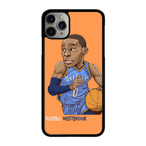 RUSSELL WESTBROOK CARTOON iPhone 11 Pro Max Case Cover