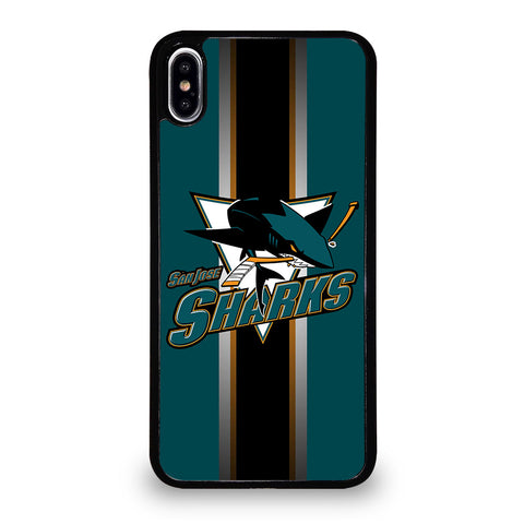 SAN JOSE SHARKS iPhone XS Max Case Cover