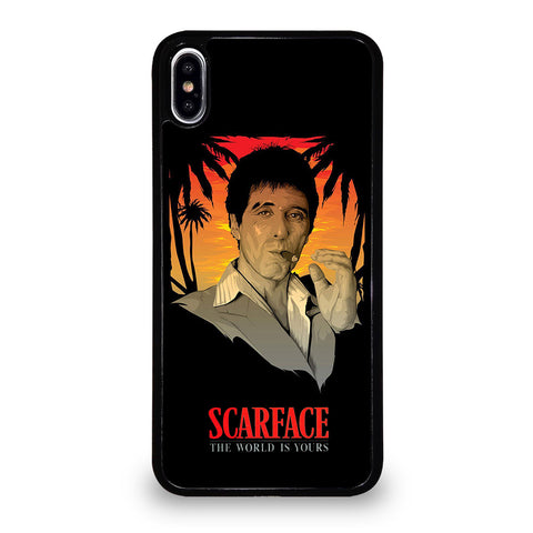 SCARFACE 2 iPhone XS Max Case Cover