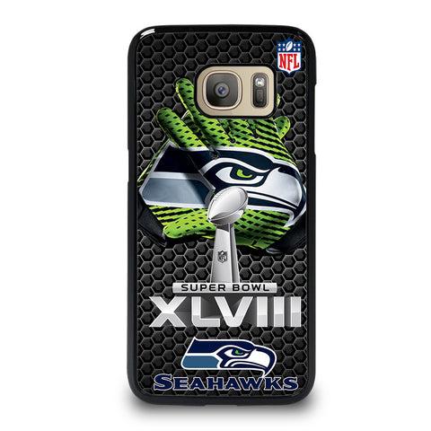 SEATTLE SEAHAWKS SUPER BOWL 48 Samsung Galaxy S7 Case Cover