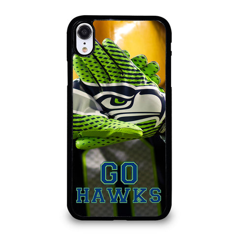 SEATTLE SEAHAWKS GO HAWKS iPhone XR Case Cover