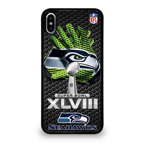 SEATTLE SEAHAWKS SUPER BOWL 48 iPhone XS Max Case Cover