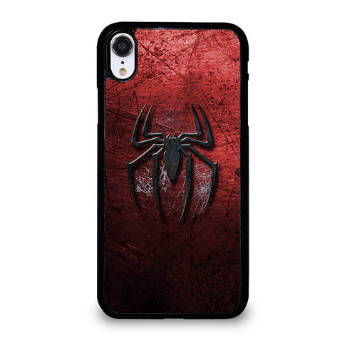 SPIDERMAN GRUNGY LOGO iPhone XR Case Cover