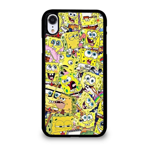 SPONGEBOB COLLAGE iPhone XR Case Cover