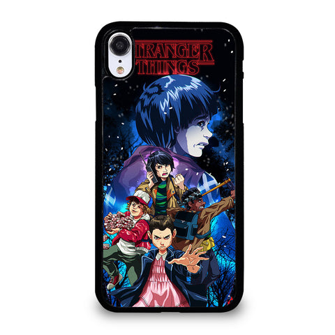 STRANGER THINGS CHARACTERS 2 iPhone XR Case Cover