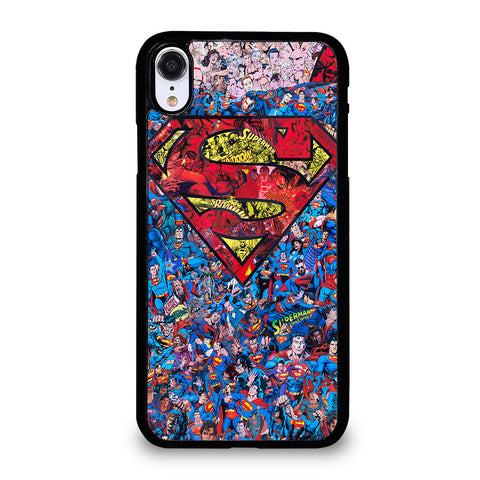 SUPERMAN SUPERHERO LOGO iPhone XR Case Cover