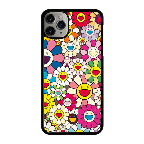 TAKASHI MURAKAMI FLOWERS 4 iPhone 11 Pro Max Case Cover
